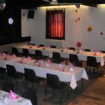 La salle décorée en location pour vos évènements